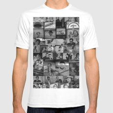 The Protectors of Hollywood Boulevard MEDIUM White Mens Fitted Tee