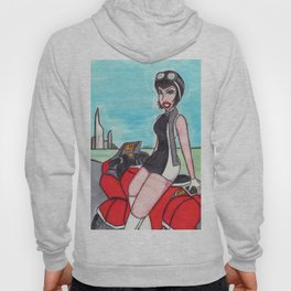 Scooter Lady Hoody