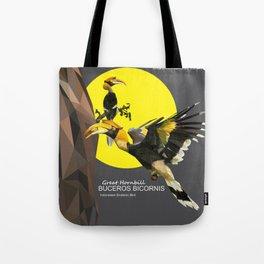 bucheros bicornis Tote Bag