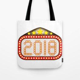 2018 Movie Theatre Marquee Tote Bag