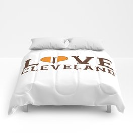 LUV Cleveland Comforters