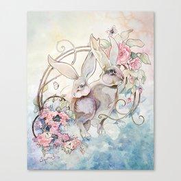 Wary Canvas Print