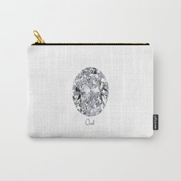 Oval Carry-All Pouch