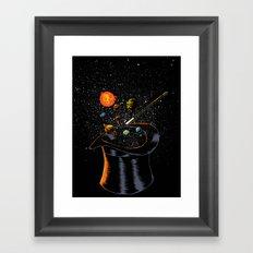 Origin Theory Framed Art Print