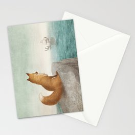 The Day the Antlered Ship Arrived Stationery Cards