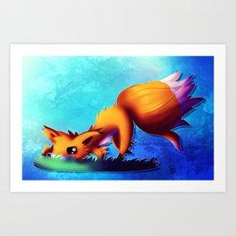 Prowling Fox Art Print