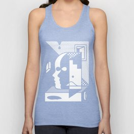 Stairs To The Attic Unisex Tank Top