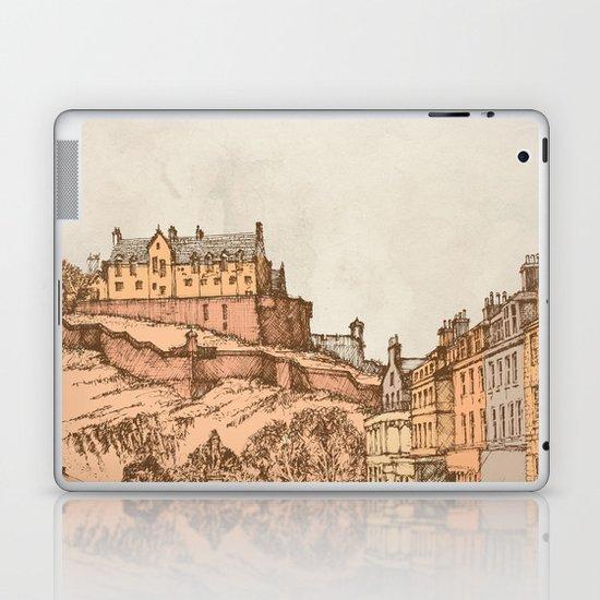 Tea in Edinburgh Laptop & iPad Skin
