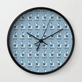 Cool llamas Wall Clock