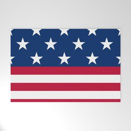 US Flag Welcome Mat
