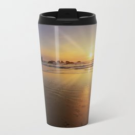 Sunset over the Pacific  Travel Mug
