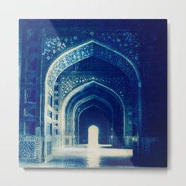 Taj Mahal - India by Mindia Metal Print