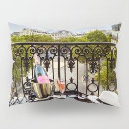 Eiffel Tower Paris Balcony View Pillow Sham