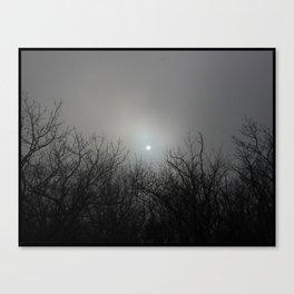 Bad Moon A'Risin Canvas Print