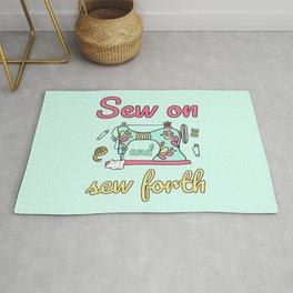 Sew On And Sew Forth II Rug