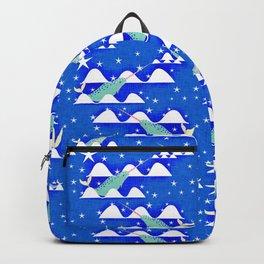 Sea unicorn - Narwhal blue Backpack