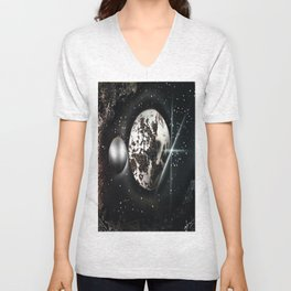 The Other Side of the MOON Unisex V-Neck