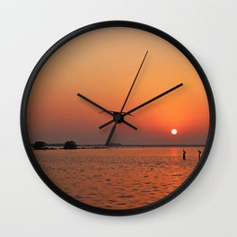 Before You Go Wall Clock