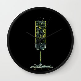 2016 ~ MMXVI ~ v.II Wall Clock