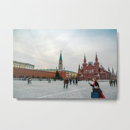 Moscow Red Square Metal Print