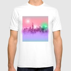chicago White MEDIUM Mens Fitted Tee