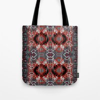 ikat Tote Bags featuring Ikat by Sofia Perina-Miller