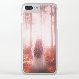 Lost in the Woods Clear iPhone Case