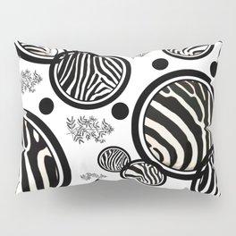 Zebra Circles Pillow Sham