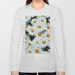 Daisies explode into flower Long Sleeve T-shirt