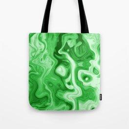 malachite natural rock abstract Tote Bag