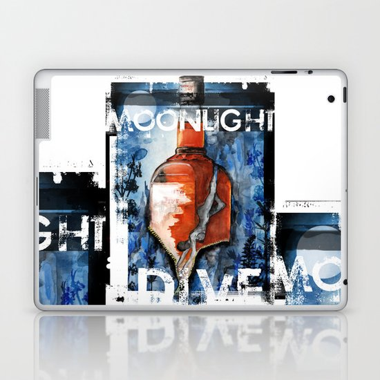 MOONLIGHT DIVE Laptop & iPad Skin