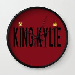 KING KYLIE - Mary Jo K Wall Clock