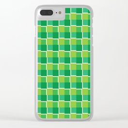 Tiles Variation II Clear iPhone Case
