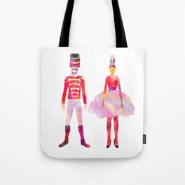 Nutcracker Ballet Tote Bag