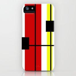Geometrical design iPhone Case