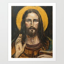 Christ Pantocrator Art Print