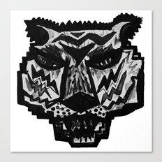 tiger mask Canvas Print