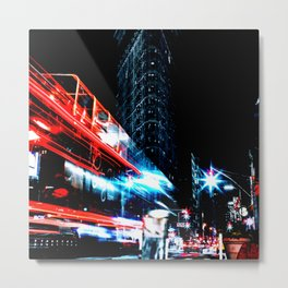 Lights of the City Metal Print