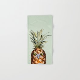 PINEAPPLE OWL Hand & Bath Towel