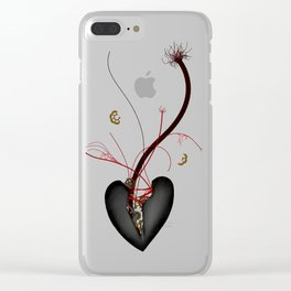 Life Mechanism Clear iPhone Case