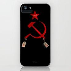 Communism vs. Capitalism iPhone (5, 5s) Slim Case