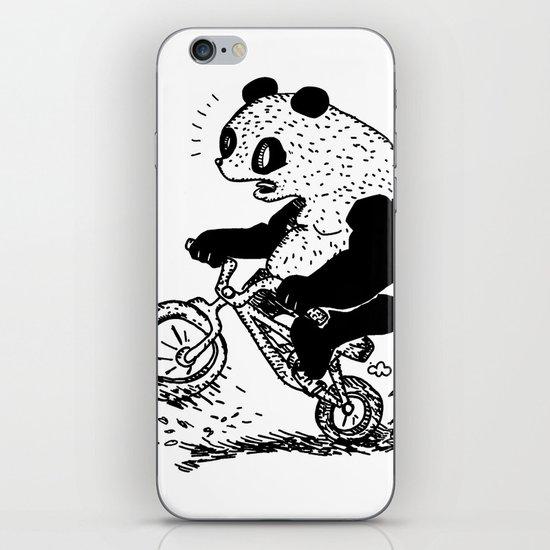 Dirt Jump Panda iPhone & iPod Skin