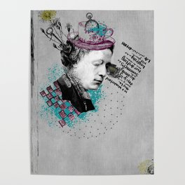 Lewis Carroll Alice on My Mind Poster