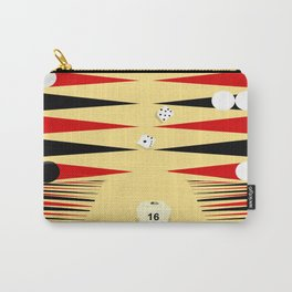 3D Backgammon Carry-All Pouch