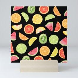 Night Fruit Salad Mini Art Print