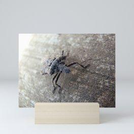 Into Grey Mini Art Print