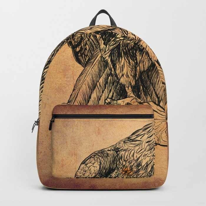 Falcon illustration Backpack