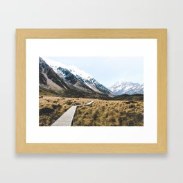 Mt Cook/Aoraki Framed Art Print