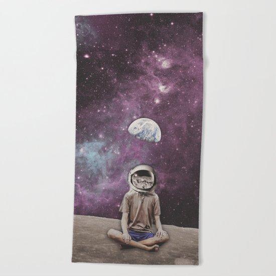 PSYCHONAUT UNIVERSE MEDITATION Beach Towel