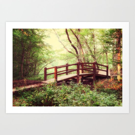 To the Forest Fairy Art Print